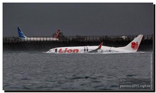 Авиакатастрофа возле берегов острова Бали