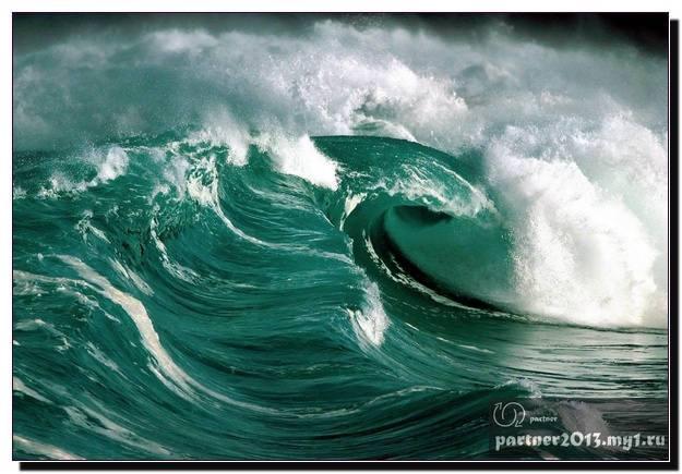 Океан. Завораживающие кадры.