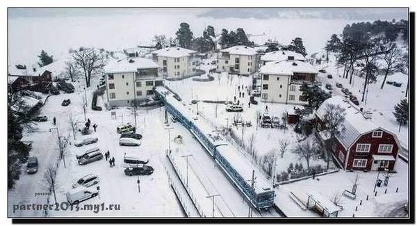 В Швеции, молодая девушка угнала поезд